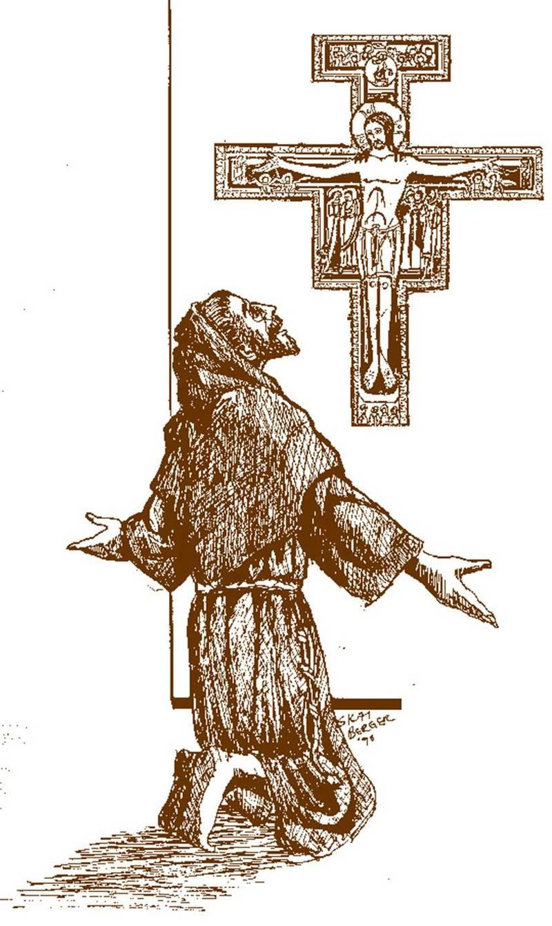 St francis san damiano