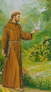 St_francis_and_dove